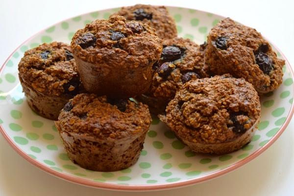 Gezonde Bosbessen Muffins