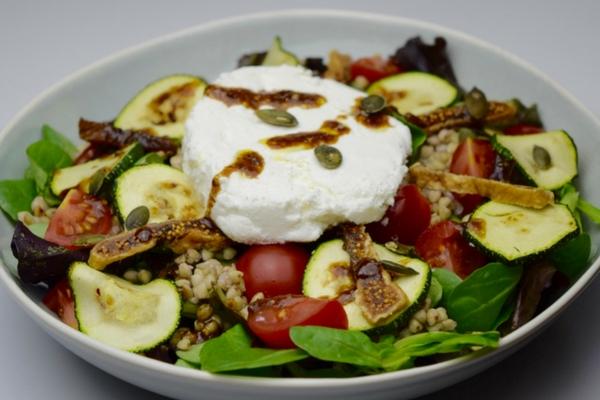 Geitenkaas Salade met Vijgen