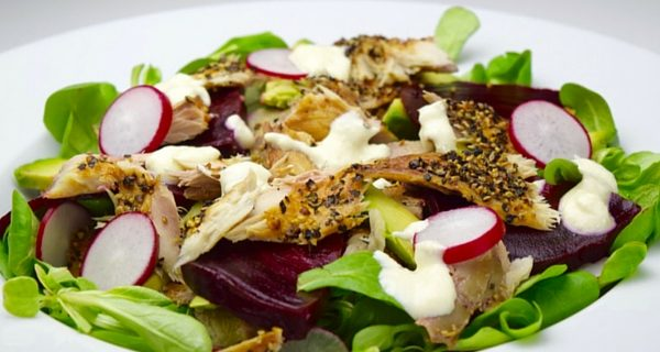 Makkelijke Makreelsalade met Mierikswortel